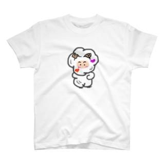 羊のモヘェ T-shirts