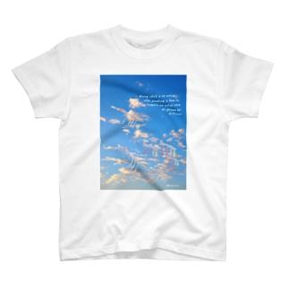 空をのぼるボクのリュウ T-shirts