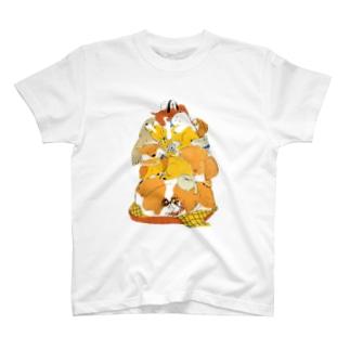 ももろ の昼寝タワー T-shirts