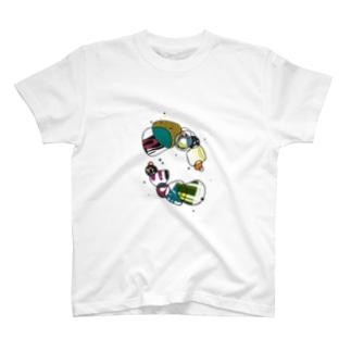 osseのワチャワチャ T-shirts