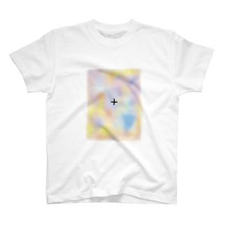 消える模様(Optical illusion) T-shirts