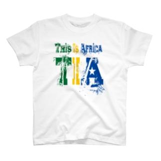 TIA (This is Africa) これがアフリカだぁ!! (カラー) T-shirts