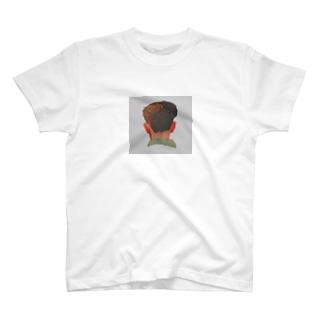 うしろ姿の男の子 T-shirts