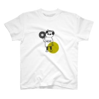 Illustrator_sumikoのDJシティニャンコ T-shirts