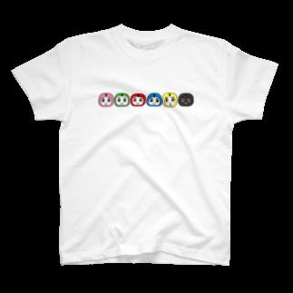 ワイワイ信州(神社)のシンシュウロボ T-shirts