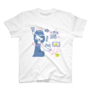 ごーごーてぃ。もぐ T-shirts
