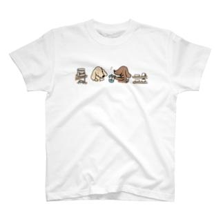 お買物ダックス T-shirts