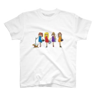 小学生デザイナー 松本にいな 12歳のサングラスのセレブ T-shirts