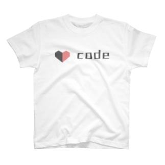 Love code Tシャツ T-shirts