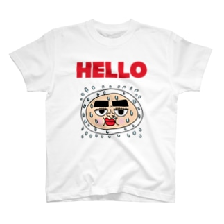 ハロー (Hello) Big Logo 2 T-shirts