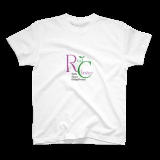 エツコロジーのRedClover T-shirts