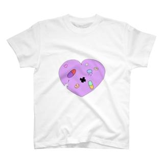 ヒビハート T-shirts