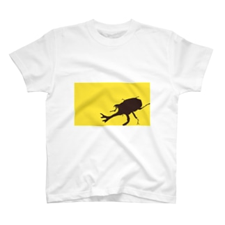 8.かぶと虫 T-shirts
