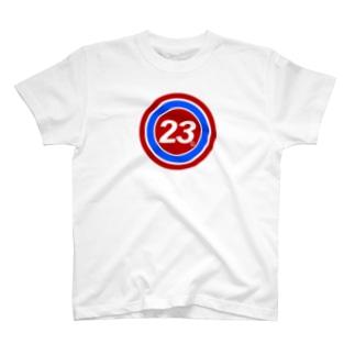 23Whisper_round T-shirts