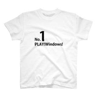 PLAY!Windows Donate T-shirt T-shirts