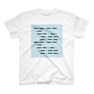 モールス符号 T-shirts