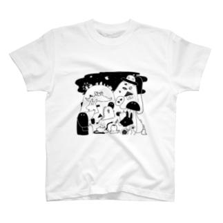 なぞのいきものたち T-shirts