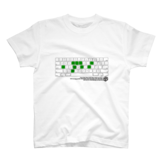 HAKO NO KIMAGUREのKEYBOARD FACTORY  T-shirts