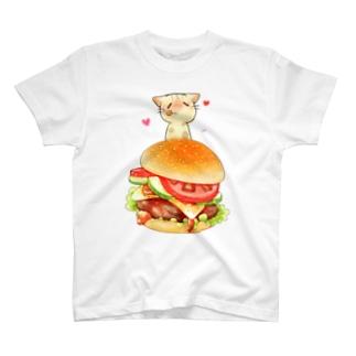 はんばーがー T-shirts