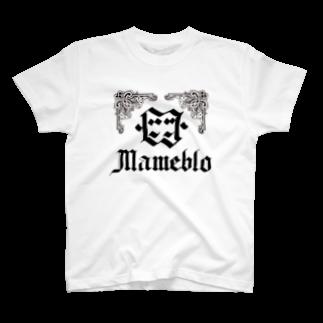 三重殺サードの店のまめぶろ T-shirts