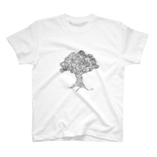 もじゃもじゃの木 T-shirts