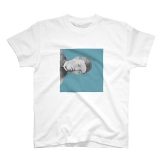 文豪・正岡青年 T-shirts