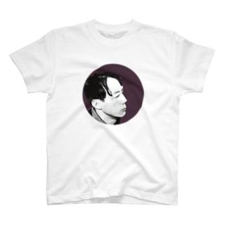 文豪・萩原朔太郎くん T-shirts