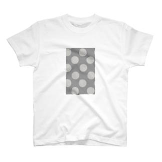 greige / beige dot T-shirts