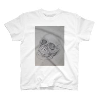 清々しい骸骨 T-shirts