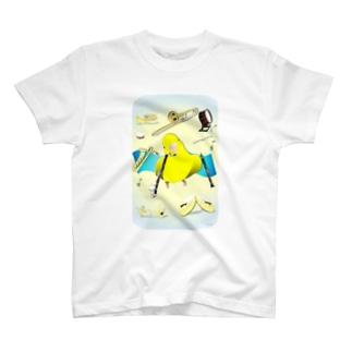ぴーちゃん吹奏楽 T-shirts