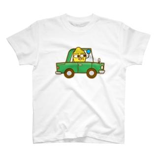 コメビツくんの普通車 T-shirts