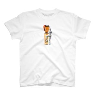抱きコケシ T-shirts