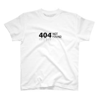 404 notfound T-shirts