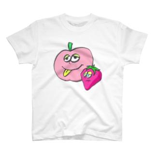 りんごといちご T-shirts