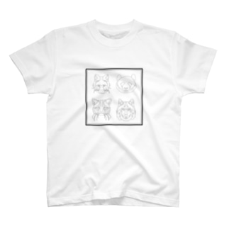 3out-firstの動物たち T-shirts