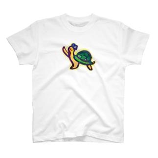 かめかめはっっ T-shirts