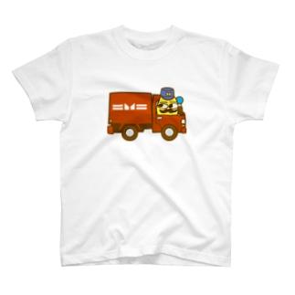 アルボリオくんの郵便車 T-shirts