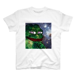 最高級ギャラクシーペペ T-shirts