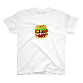 ショッキングバーガー T-shirts