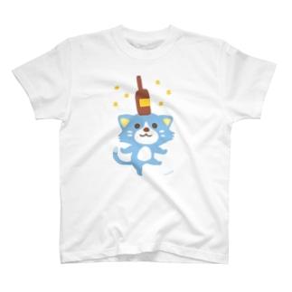 ほんわか通りのこねこさん T-shirts