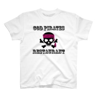 GOD PIRATES RESTAURANT T-shirts