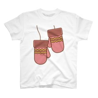 ミトンピンク T-shirts