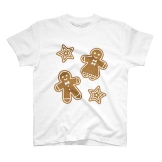 ジンジャーマンクッキー T-shirts