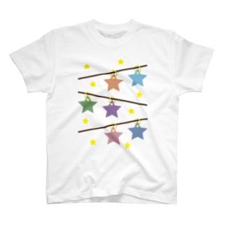 星飾り T-shirts