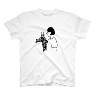 & dog Tシャツ