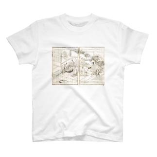 夢応の鯉魚(裏写り低減版)L T-shirts