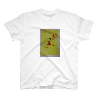 dancin' girl Tシャツ