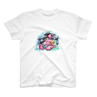 ヒトヨタケとスコピー T-shirts