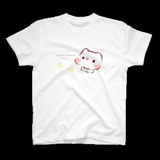 灯さかすのBabyましまろう T-shirts