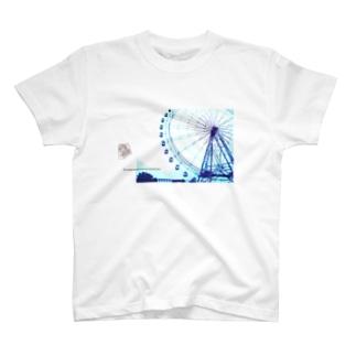* 観覧車 pm.4:37 * T-shirts